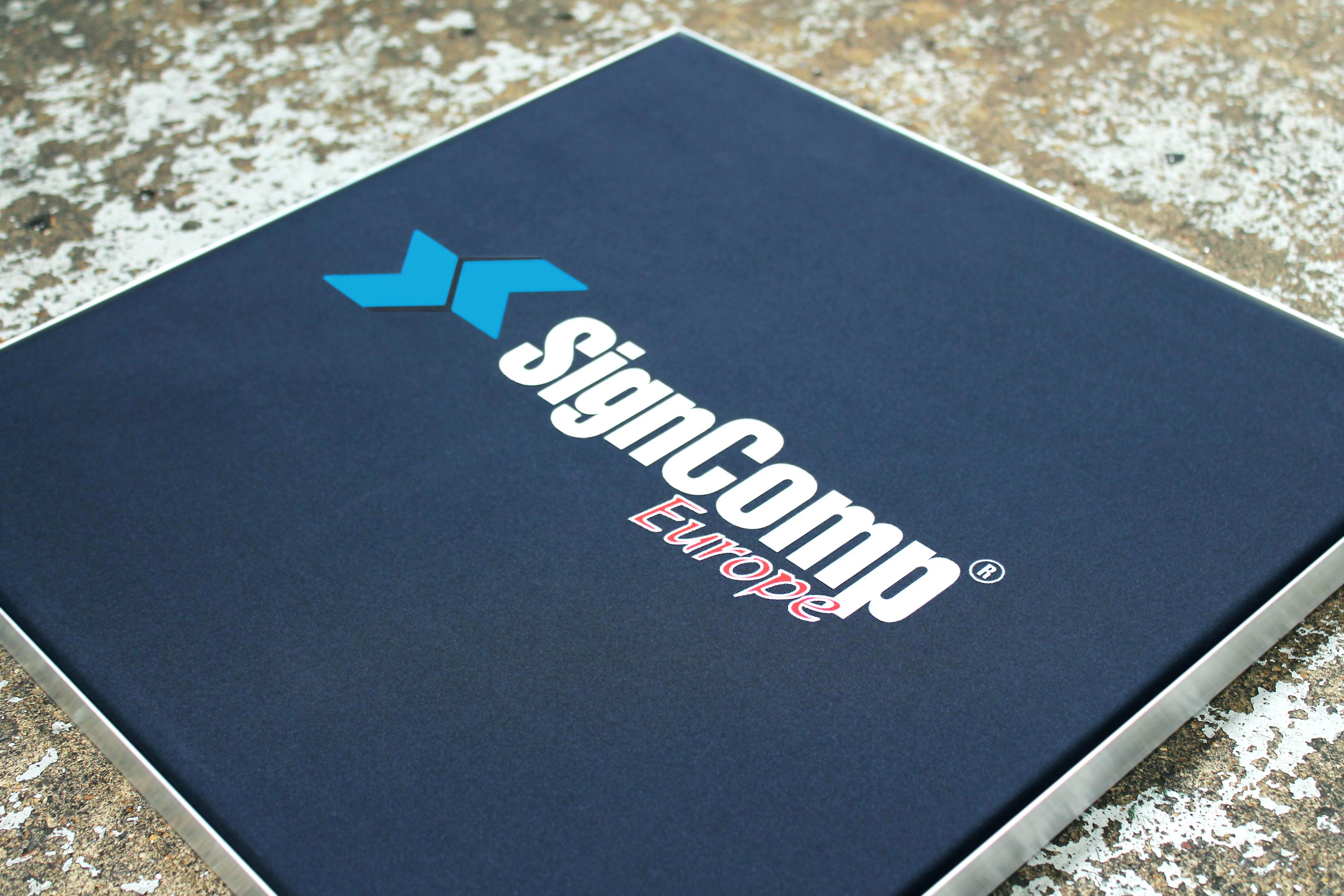 SignComp Europe - EASITEX - Textile Signage